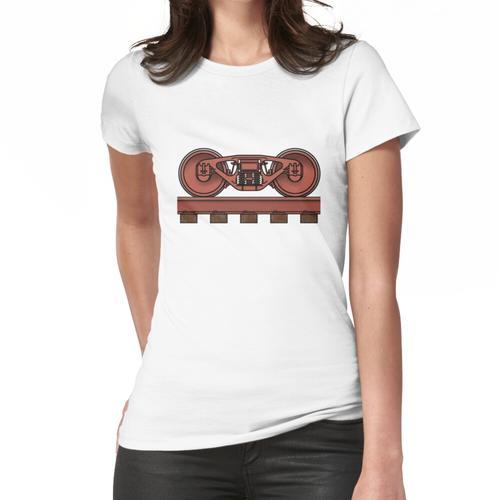 Eisenbahnwagen / Eisenbahn Bogie Frauen T-Shirt