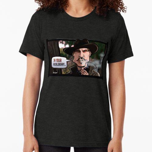 Ich bin dein Huckleberry (Grabstein) Vintage T-Shirt