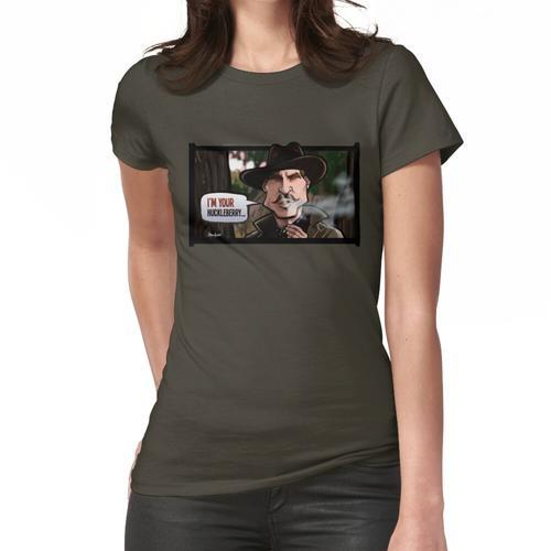 Ich bin dein Huckleberry (Grabstein) Frauen T-Shirt