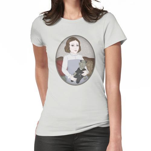 Mary Shelley und ihre Puppe Frauen T-Shirt