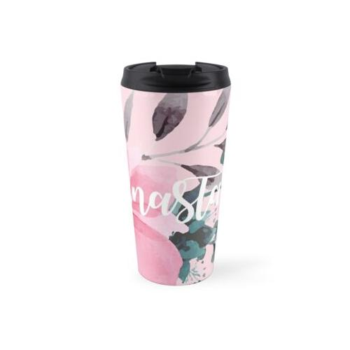Floral personalisiert Thermosbecher