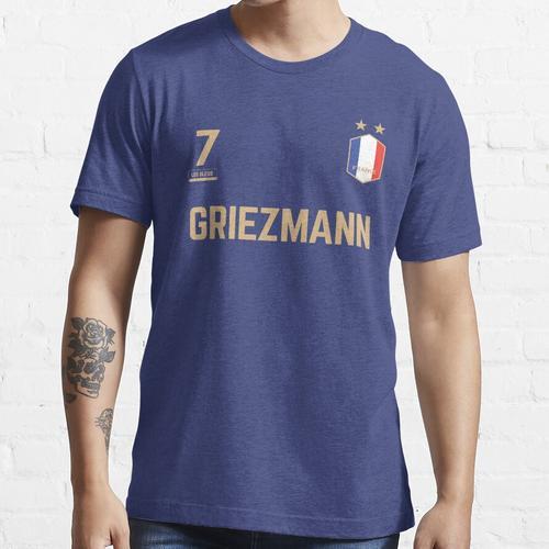 Antoine Griezmann 7 • WM-Trikot ID G-1 Essential T-Shirt
