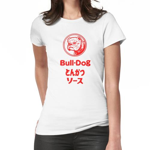 Bull-Dog Tonkatsu Sauce Fan T-Shirt Frauen T-Shirt
