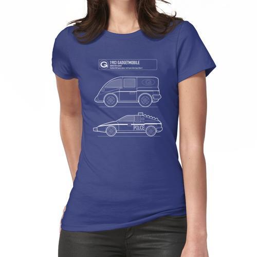 Gadgetmobile Blueprint Frauen T-Shirt