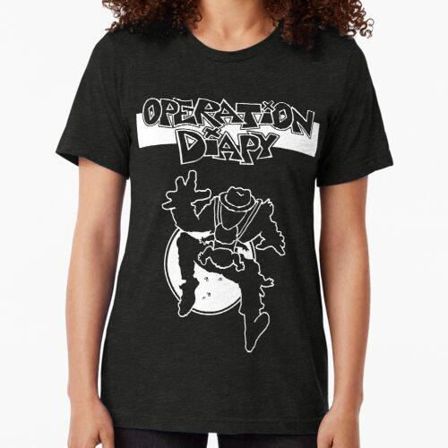 Operation Diapy - Punk Rock Dad Operation Efeu Vintage T-Shirt