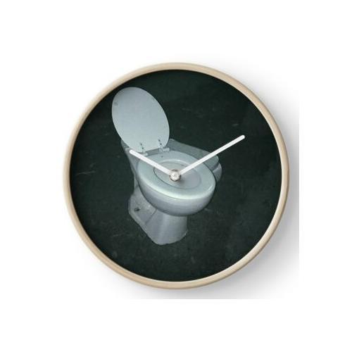 Toilette Uhr