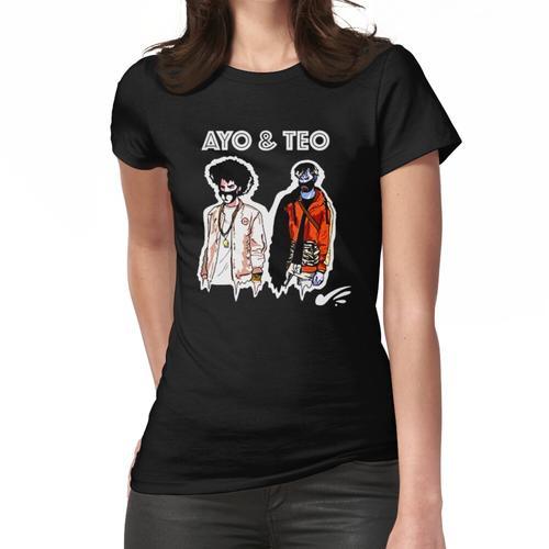 Ayo und Teo Rolex Frauen T-Shirt