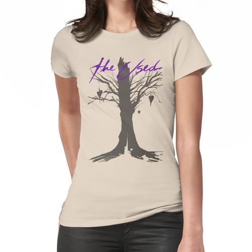 Das benützte Frauen T-Shirt