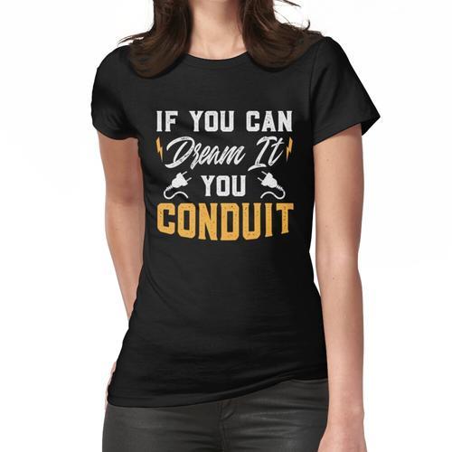 ELEKTRIKER: Ich bin ein Elektriker Ich bin nie falsch Frauen T-Shirt