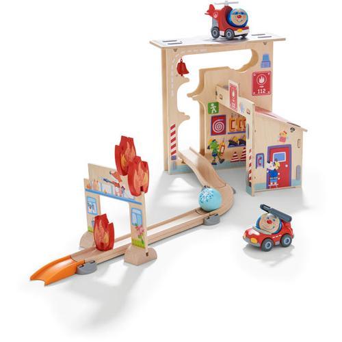 HABA Kullerbü – Spielbahn Feuerwehrwache, bunt