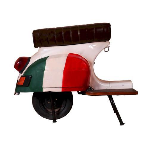 SIT This & That Roller-Barhocker bayrische Flagge / 1054-42 / B 110 x