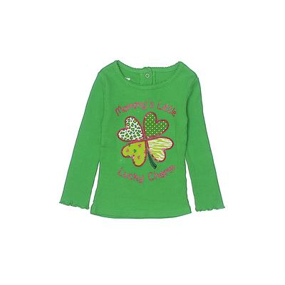 Koala Kids Pullover Sweater: Green Tops - Size 12-18 Month