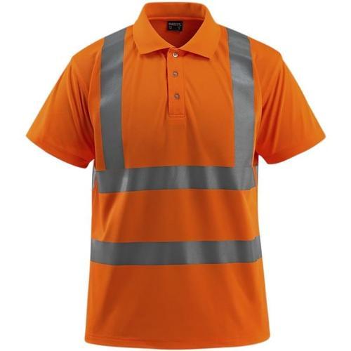 Warnschutz Poloshirt »Bowen Safe Light« Größe L orange, Mascot