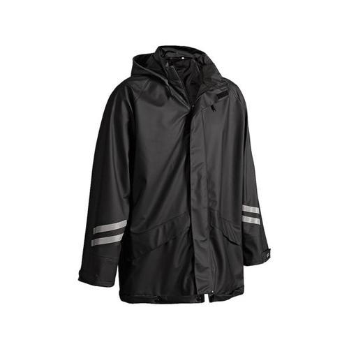 Regenjacke lang »4301« Größe XL schwarz, Blakläder