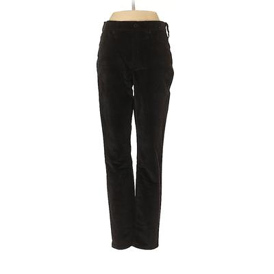 J.Crew Velour Pants - Mid/Reg Rise: Black Activewear - Size 26
