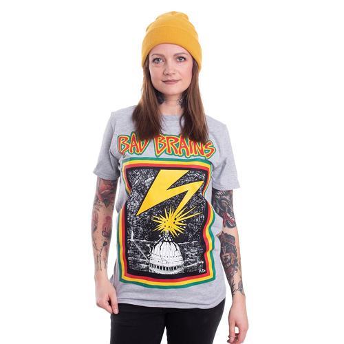 Bad Brains - Bad Brains Grey - - T-Shirts