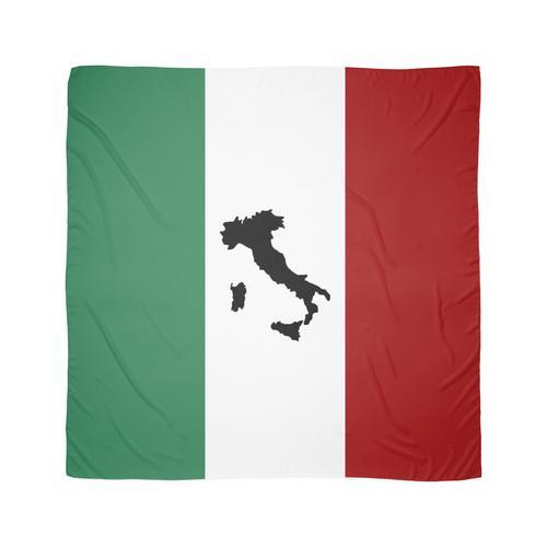 Italienische Flagge und Stiefel Tuch