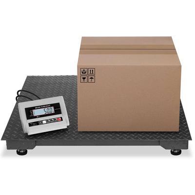 Steinberg Systems - Balance Au Sol Industrielle à Plate-Forme Sans Fil - 100 X 100Cm - 5000Kg / 2Kg
