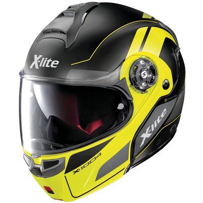 X-lite X-1004 Charismatic N-Com Klapphelm, schwarz-gelb, Größe XL