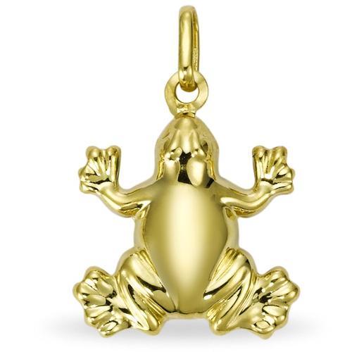 Anhänger 750/18 K Gelbgold Frosch