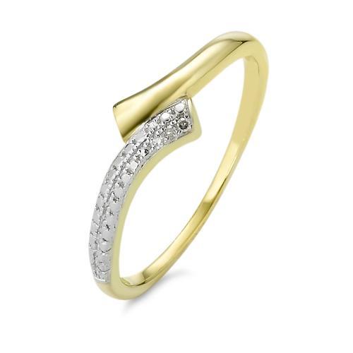 Ring Gold 750 und Diamanten