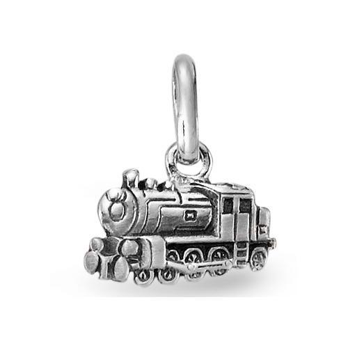 Anhänger Silber Lokomotive