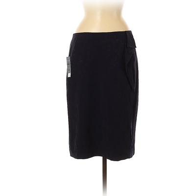 Ann Taylor LOFT Casual Skirt: Bl...