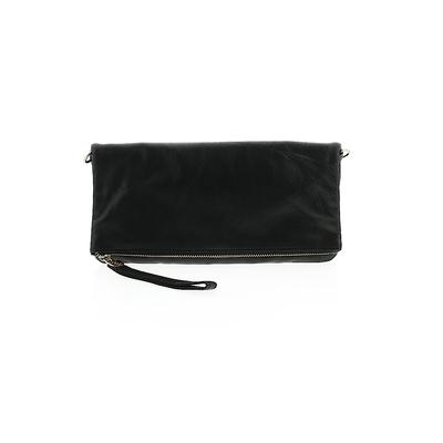 oasis Clutch: Black Solid Bags