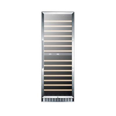 """Summit SWC1966 23 5/8"""" One Section Wine Cooler w/ (2) Zones - 160 Bottle Capacity, 115v"""