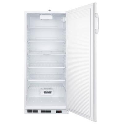"Accucold FFAR10PLUS2 25"" Upright Medical Refrigerator - Locking, White, 115v"