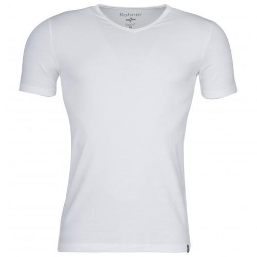 Rohner - Rohner Basic V-Neck - T-Shirt Gr S grau