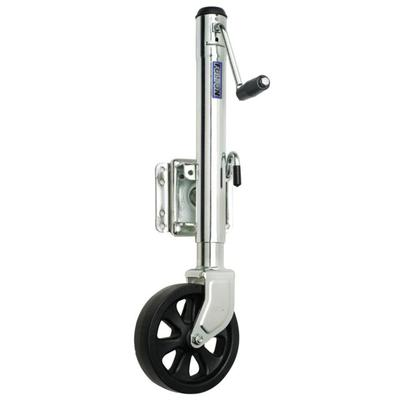 """Fulton Sports Equipment Wheel 1500 Lbs. Bolt-Thru Swivel Jack Single XP15 0101 Model: XP15-0101"""