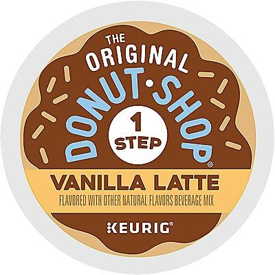 20 Ct The Original Donut Shop Vanilla Latte K-Cup® Pods. Coffee
