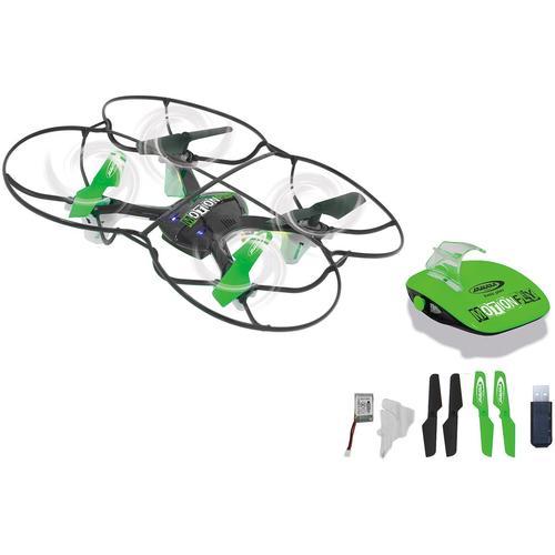 Jamara RC-Quadrocopter RC MotionFly Quadrocopter, mit LED-Beleuchtung schwarz Kinder Ab 9-11 Jahren Altersempfehlung