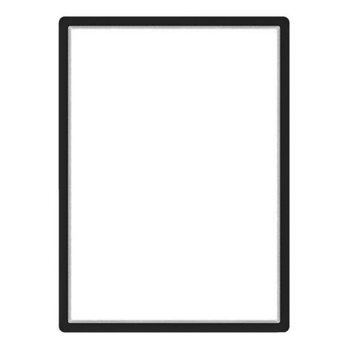 Magnetischer Posterrahmen »Magneto« 50x70 schwarz, Tarifold, 54.2x74.2 cm