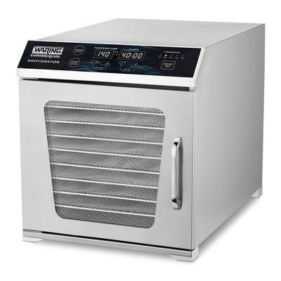 Waring WDH10 Single Zone Dehydrator w/ (10) Racks - Stainless, 120v