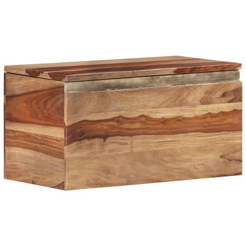 vidaXL Aufbewahrungstruhe 57x30x30 cm Massivholz
