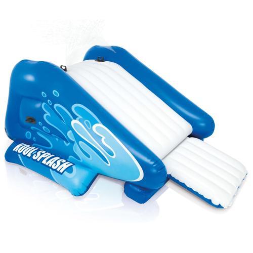Intex Wasserrutsche Aufblasbar Kool Splash Blau