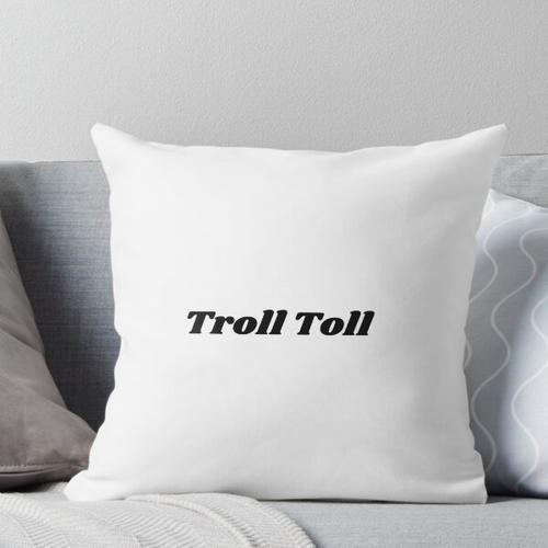 Troll-Maut Kissen