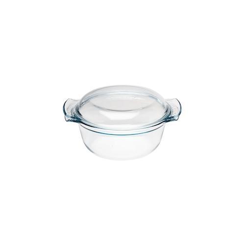 Pyrex runder Glas Schmortopf 1,5L