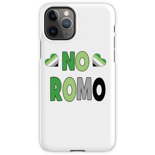 Kein Romo-Geschenk Aromantic Aromantic Gift Kein Romo Kein romantisches Ges iPhone 11 Pro Handyhülle