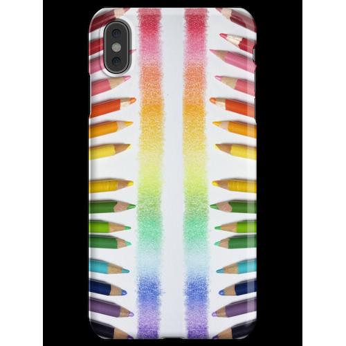 Buntstift Regenbogen iPhone XS Max Handyhülle