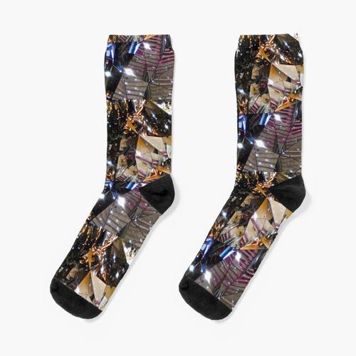 Rolltreppe in eine neue Welt Socken