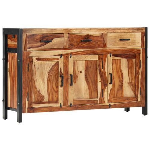 vidaXL Sideboard 120x35x75 cm Massivholz Palisander