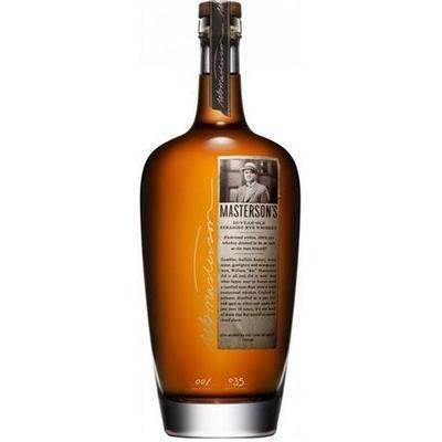 Masterson's Rye Whiskey 10 Year 750ml