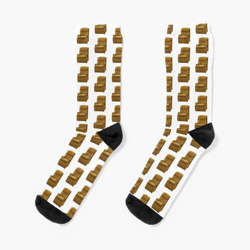Martin Cranes Stuhl. Socken