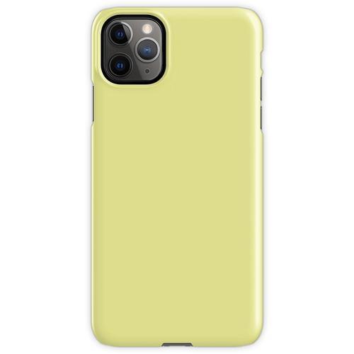 Pastellgelb / Pastellgelb Einfarbig iPhone 11 Pro Max Handyhülle