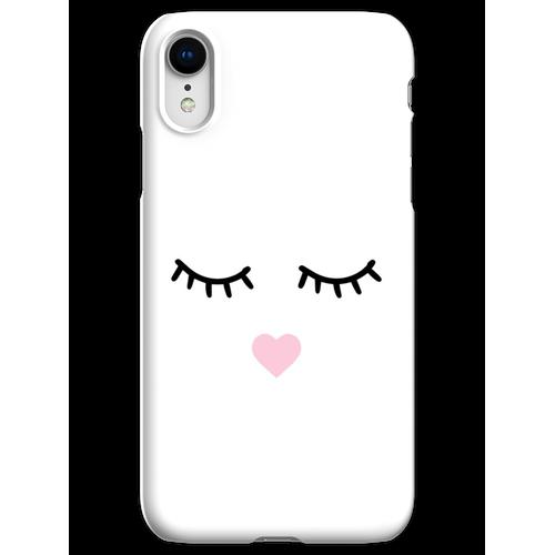 Süße Wimpern - Wimpern, Mascara iPhone XR Handyhülle