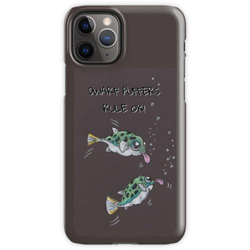 Zwerg Kugelfisch ... sie sind OK! iPhone 11 Pro Handyhülle