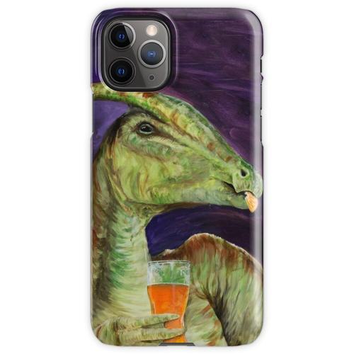 Parasaurolophus trinken Hefeweizens iPhone 11 Pro Handyhülle